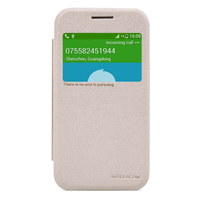 کیف محافظ نیلکین Nillkin Sparkle Leather Case Samsung Galaxy Core Prime
