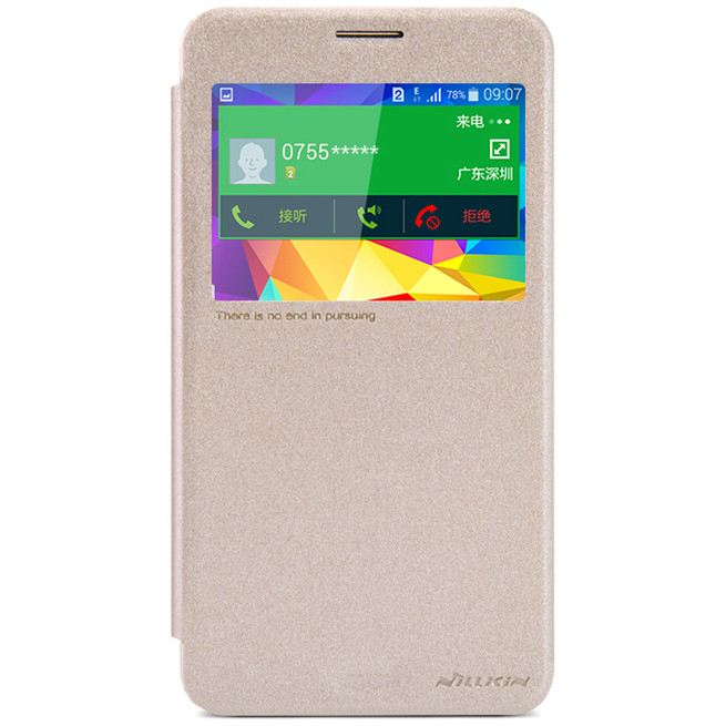 کیف محافظ نیلکین Nillkin Sparkle Leather Case Samsung Galaxy Mega 2