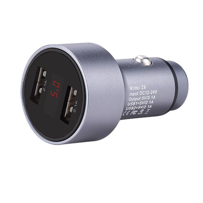 شارژر فندکی هوکو Hoco Car Charger Z9 Dual USB