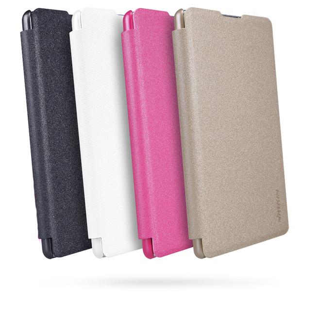 کیف محافظ نیلکین Nillkin Sparkle Leather Case Sony Xperia XA