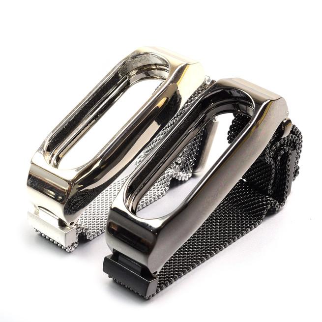 بند فلزی مغناطیسی دستبند سلامتی شیائومی Xiaomi Mi Band 2 Magnetic Metal Strap کد 100