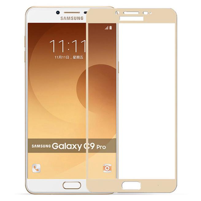 محافظ صفحه گلس فول فریم Full Frame Glass Samsung Galaxy C9 Pro