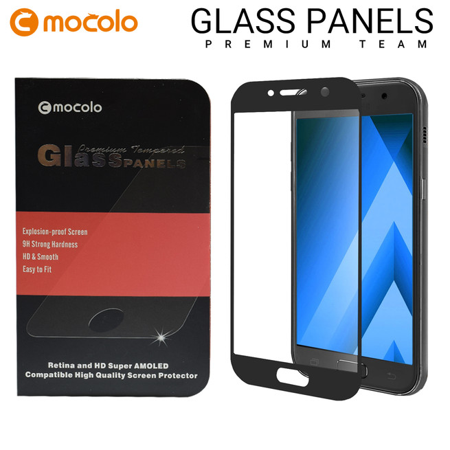 محافظ صفحه گلس فول فریم موکولو Mocolo Full Frame Glass Samsung Galaxy A3 2017