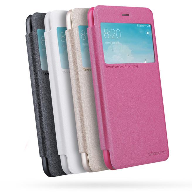 کیف محافظ نیلکین Nillkin Sparkle Leather Case Xiaomi Redmi 4X