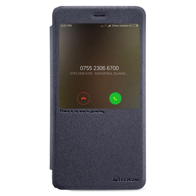 کیف محافظ نیلکین Nillkin Sparkle Leather Case Xiaomi Redmi Note 4X