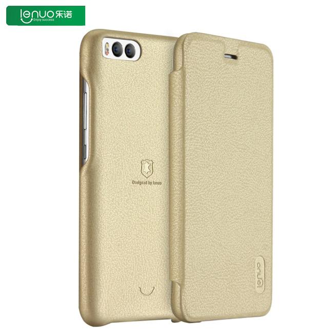 کیف چرمی Lenuo Flip Cover Xiaomi Mi 6