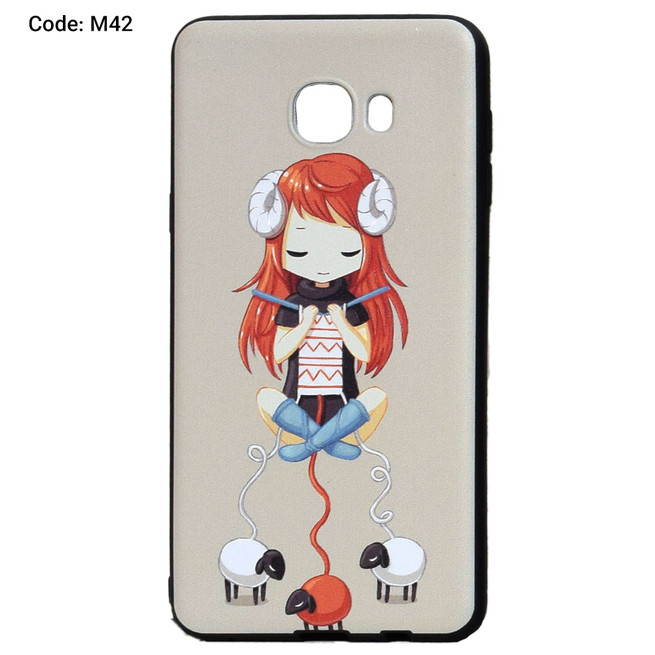 قاب محافظ ژله ای فانتزی P.E.C Samsung Galaxy C7