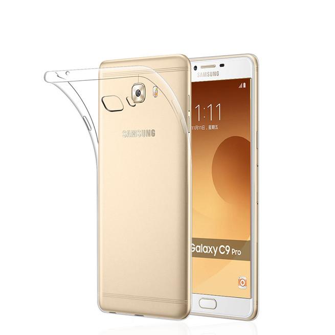 کاور مدل Clear jelly مناسب برای گوشی موبایل سامسونگ Galaxy C7