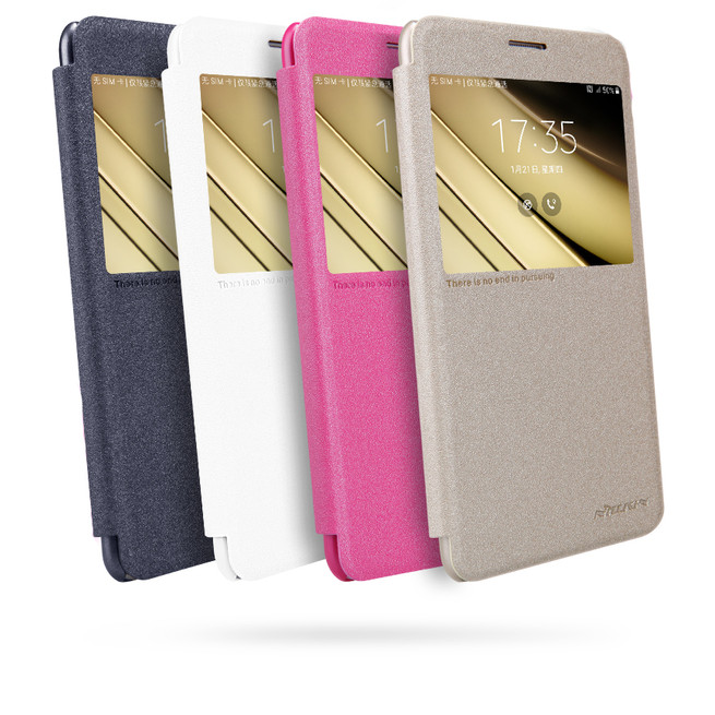 کیف محافظ نیلکین Nillkin Sparkle Leather Case Samsung Galaxy C7
