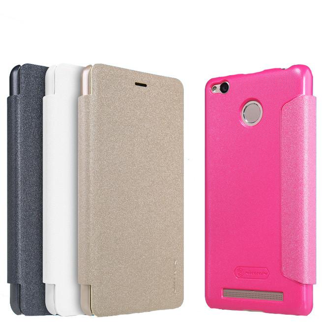 کیف محافظ نیلکین Nillkin Sparkle Leather Case Xiaomi Redmi 3Pro