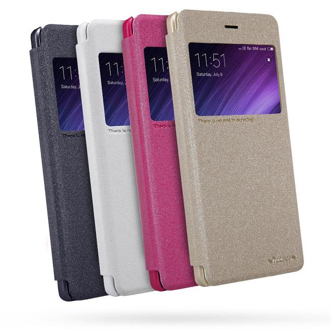 کیف محافظ نیلکین Nillkin Sparkle Leather Case Xiaomi Redmi 4 Prime