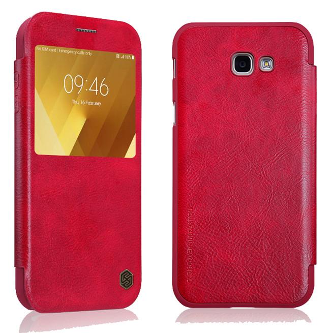 کیف محافظ نیلکین Nillkin Qin Leather Case Samsung Galaxy A3 2017