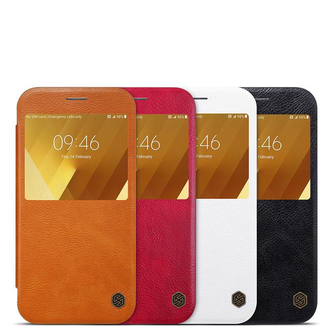 کیف محافظ نیلکین Nillkin Qin Leather Case Samsung Galaxy A7 2017