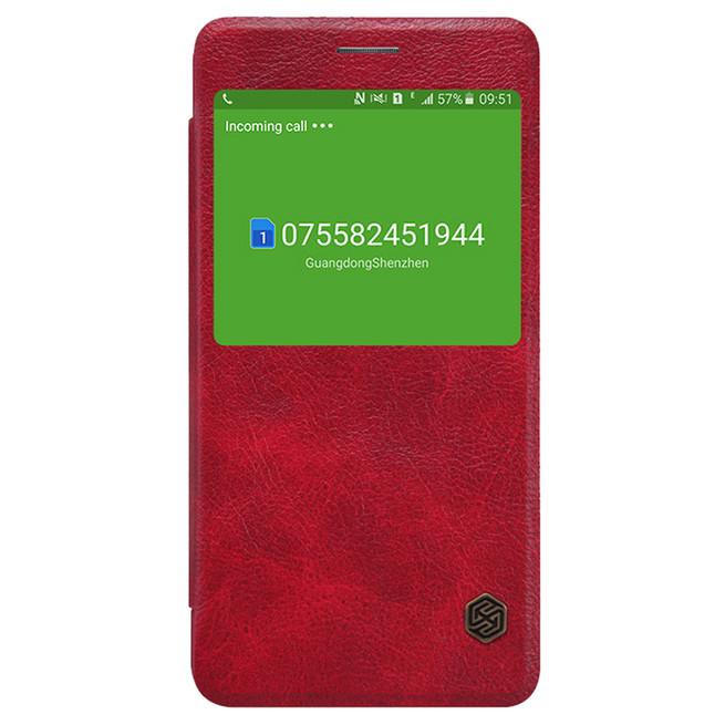 کیف محافظ نیلکین Nillkin Qin Leather Case Samsung Galaxy A9