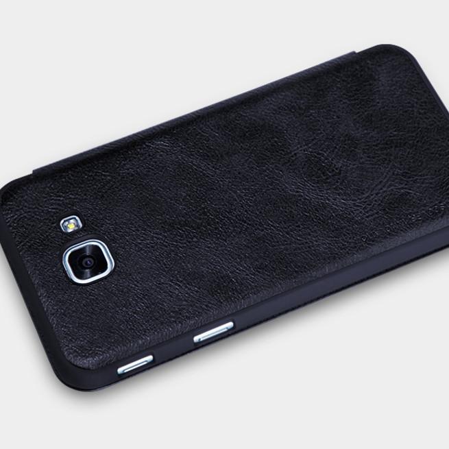 کیف محافظ نیلکین Nillkin Qin Leather Case Samsung Galaxy A8