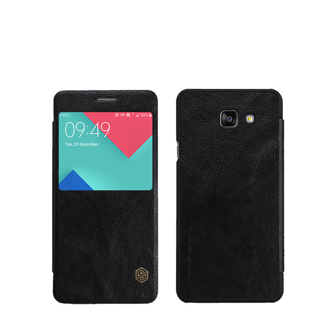کیف محافظ نیلکین Nillkin Qin Leather Case Samsung Galaxy A7 2016