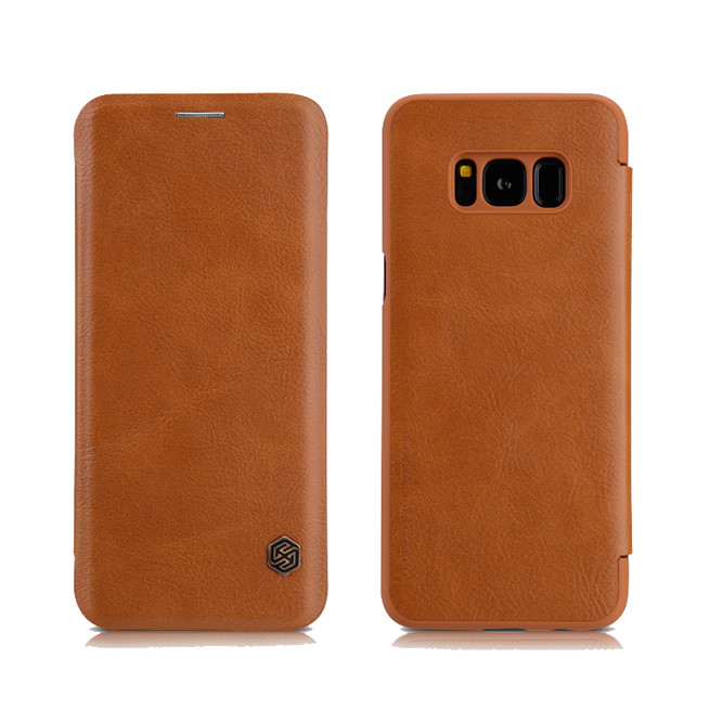 کیف محافظ نیلکین Nillkin Qin Leather Case Samsung Galaxy S8 Plus
