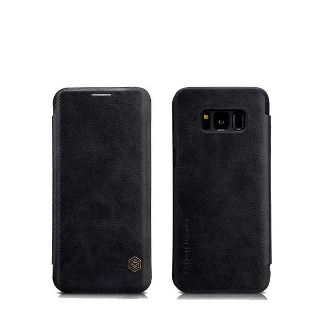 کیف محافظ نیلکین Nillkin Qin Leather Case Samsung Galaxy S9