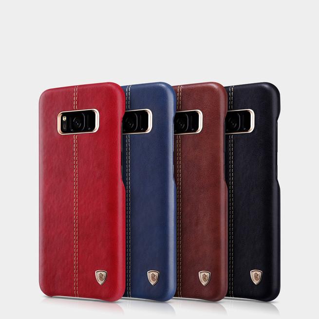بک کاور نیلکین Nilkin Englon Leather Cover Samsung Galaxy S8 Plus