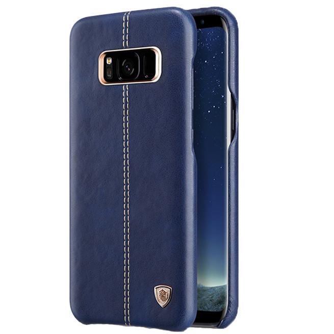 بک کاور نیلکین Samsung Galaxy S8 Nilkin Englon Leather Cover