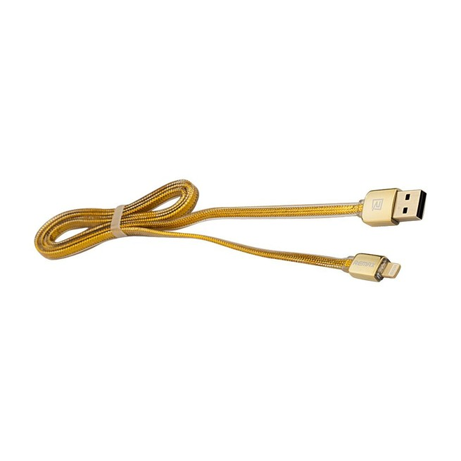 کابل ریمکس لایتنینگ Remax Gold Cable iPhone