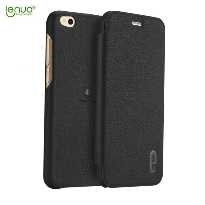 کیف چرمی Lenuo Flip Cover Xiaomi Mi 5C