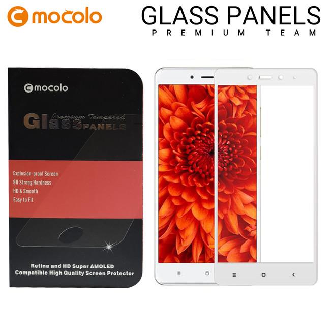 محافظ صفحه گلس فول فریم موکولو Mocolo Full Frame Glass Xiaomi Redmi Note 4