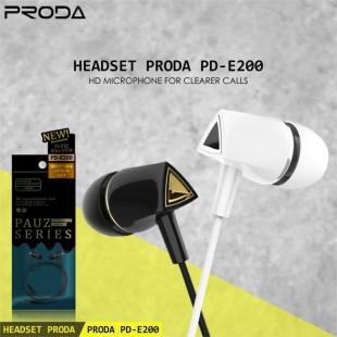هندزفری پرودا مدل PD-E200