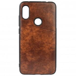 کاور مدل Leather مناسب برای گوشی موبایل شیائومی Redmi Note 6Pro