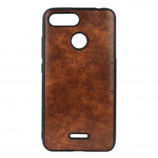 کاور مدل Leather مناسب برای گوشی موبایل شیائومی Redmi 6