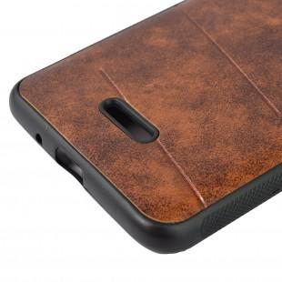 کاور مدل Leather مناسب برای گوشی موبایل شیائومی Redmi 6A