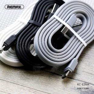 کابل تبدیل USB به microUSB ریمکس مدل RC-129m طول 1 متر