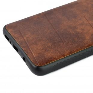 کاور مدل Leather مناسب برای گوشی موبایل سامسونگ A9 2018