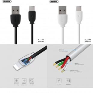 کابل تبدیل USB به USB-C ریمکس مدل RC-134a طول 1 متر