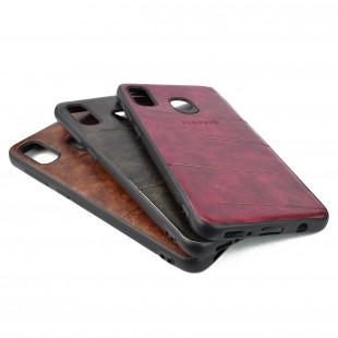 کاور مدل Leather مناسب برای گوشی موبایل سامسونگ Galaxy A30