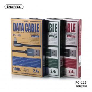 کابل تبدیل USB به لایتنینگ ریمکس مدل RC-119i طول 1 متر