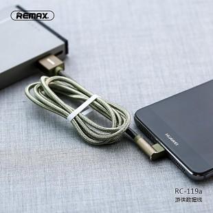 کابل تبدیل USB به USB-C ریمکس مدل RC-119a طول 1 متر