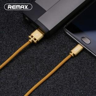 کابل تبدیل USB به USB-C ریمکس مدل RC-064a طول 1 متر