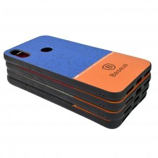 کاور مدل Baseus Leather مناسب برای گوشی موبایل شیائومی Redmi Note 7/Note 7 Pro
