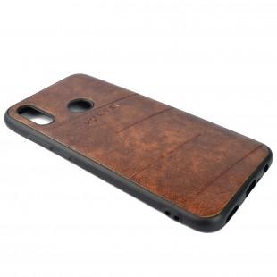کاور مدل Leather  مناسب برای گوشی موبایل هوآوی Psmart 2019