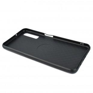 کاور مدل Leather  مناسب برای گوشی موبایل سامسونگ A7 2018