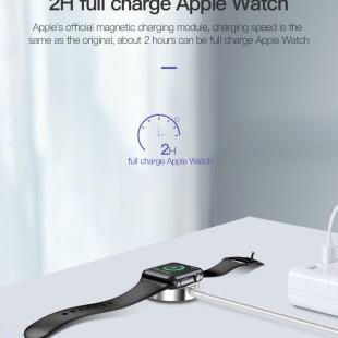 کابل شارژ وایرلس توتو مناسب برای اپل واچ 1 / 2 / 3 / 4 مدل CACW-030