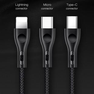 کابل تبدیل USB به MicroUSB توتو مدل BMA-017 طول 1 متر