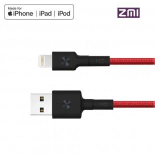 کابل تبدیل USB به لایتنینگ شیائومی مدل ZMI Al823 طول 0.3 متر