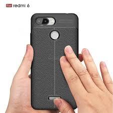 کاور مدل AF Lychee مناسب برای گوشی موبایل شیائومی Redmi 6