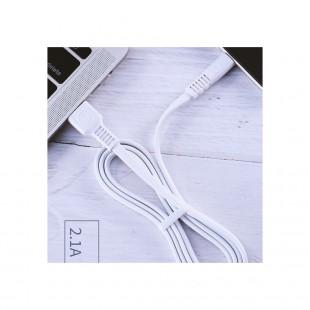کابل تبدیل USB به MicroUSB دبلیو کی مدل WDC-066m طول 1 متر