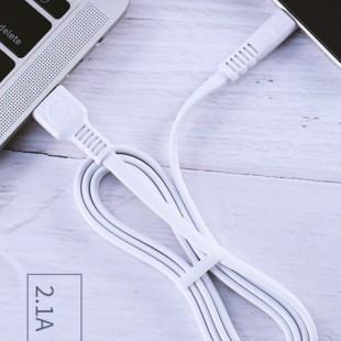کابل تبدیل USB به MicroUSB دبلیو کی مدل WDC-066 طول 2 متر