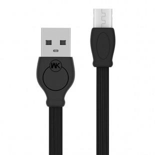 کابل تبدیل USB به Micro دبلیو کی مدل WDC-023m طول 1 متر