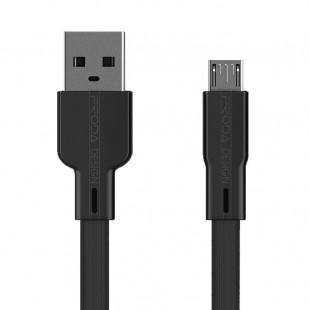 کابل تبدیل USB به MicroUSB پرودا مدل PD-B18m طول 1 متر