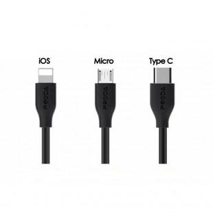 کابل تبدیل USB به Type-c پرودا مدل PD-B15 طول 1 متر